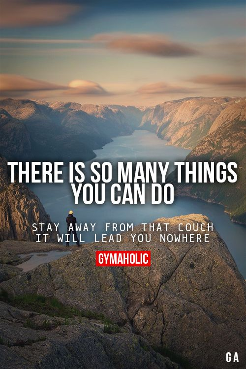 There Is So Many Things You Can Do