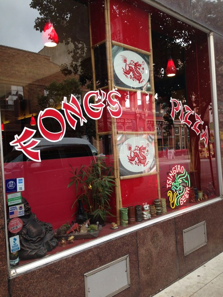 Think of a dive bar, frozen in time, with delicious food, great service and tasty tiki drinks that pack a punch. From General Tso's chicken pizza to the pizzeria's highly acclaimed crab rangoon pizza, Fong's pushes the boundaries.