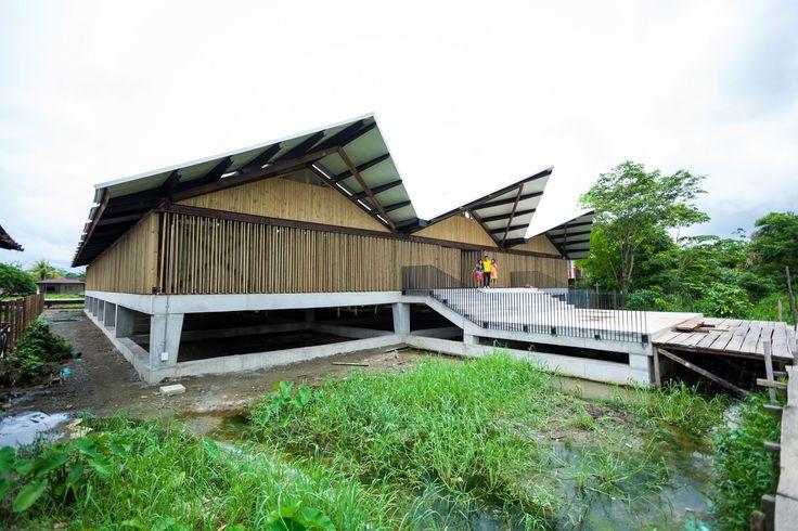 Institución Educativa Embera Atrato Medio / Plan:b arquitectos