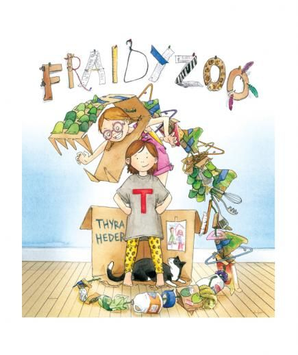 Fraidy Zoo, by Thyra Heder | Fond of Goodnight Moon but looking to mix things up a bit? Real Simple asked 8 beloved children's book authors which page-turners deserve a place in the read-it-again-Mommy stack.