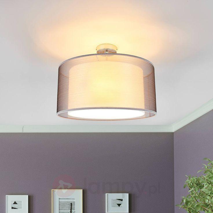 Tika - ładna lampa sufitowa z materiału | Lamyp.pl