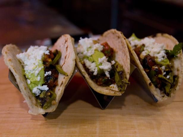 Get Nopales Cactus Tacos Recipe from Cooking Channel