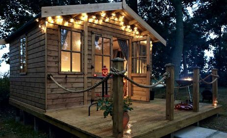 Glamping in Yorkshire at Dale Farm Holidays