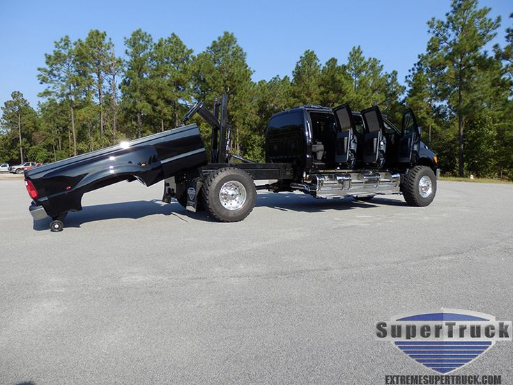 Six Door F650 with Kelderman removable bed