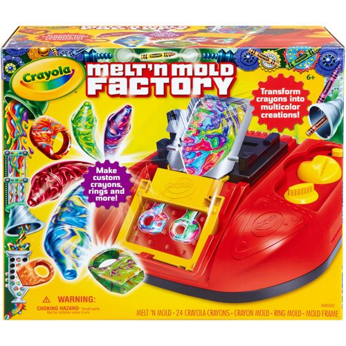 Love that I got 15% off Melt'N Mold Factory from CrayolaStore.com for $49.99.