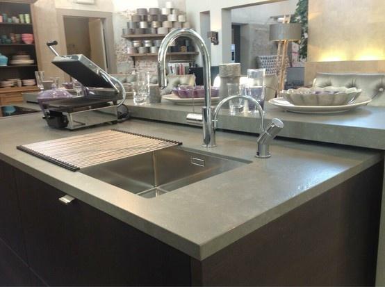 17 beste afbeeldingen over keuken op pinterest thuis keukens villa 39 s en sorrento - Witte quartz werkblad ...