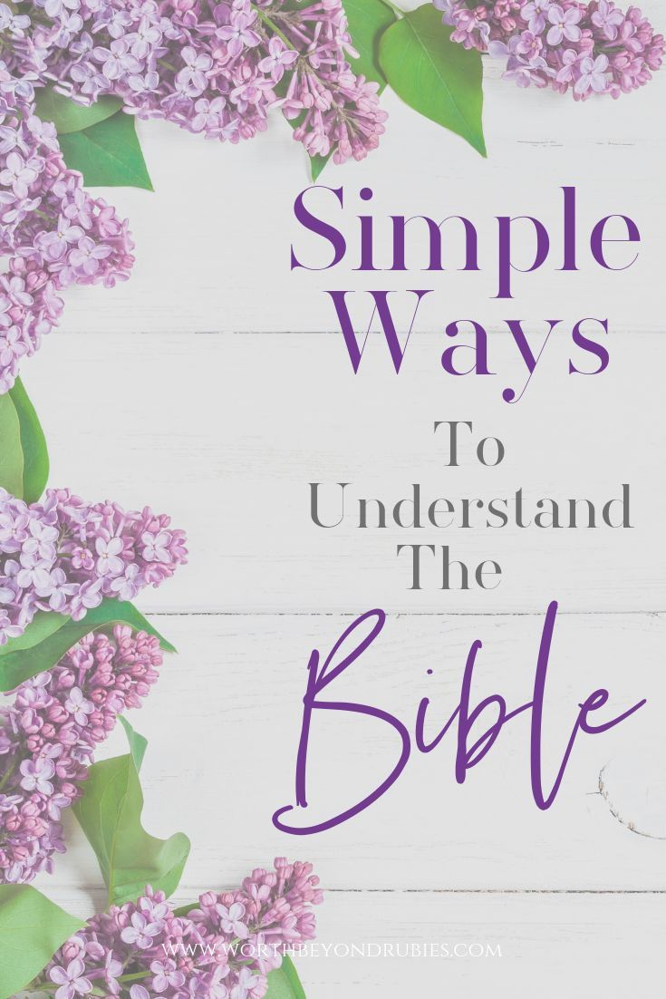 Bible study methods to learn how to easily study the bible