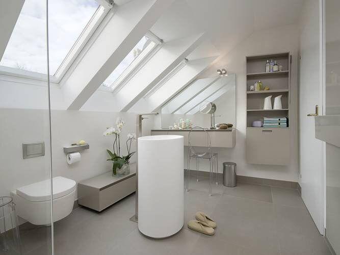 115 besten Duschbad Dachgeschoss Bilder auf Pinterest Badezimmer - badezimmer mit schräge