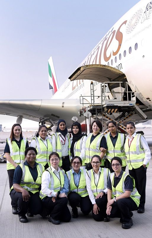 Emirates Honors Female Crew on Int'l Women's Day