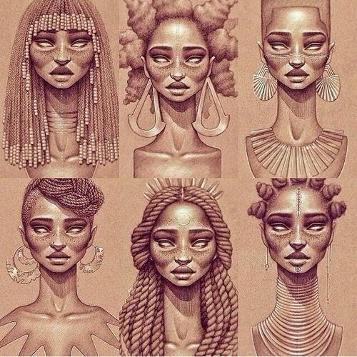 Black Queen Work by Sara Golish