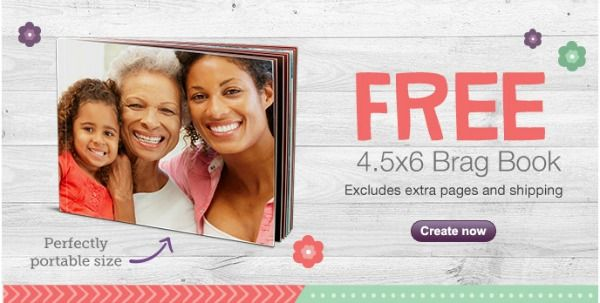 FREE 4.5×6 Brag Book ($6.99 value) with this Walgreens Photo coupon code! Valid through May 14, 2014.