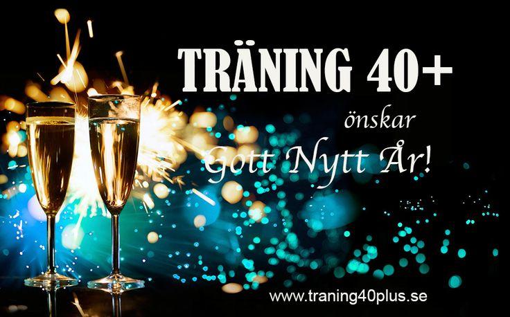 TRÄNING 40  önskar Gott nytt år!