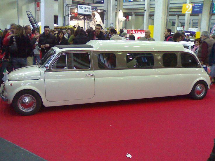 Fiat 500 limousine bedrijfswageninrichting