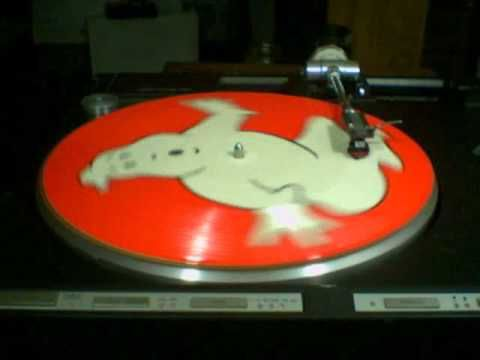 Ghostbusters Picture Disc (side A)