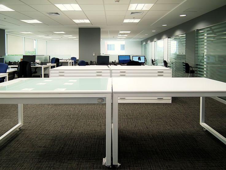 Diseño de espacio de trabajo para MILPO, área de trabajo diseñada por SXL Arquitectos