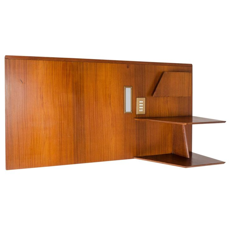 """Headboard by Gio Ponti for the Hotel """"Royal Continental,"""" Naples, 1953 