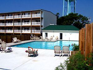 Oak Island Condo Rentals at Ocean Walk Condominiums. 58th Street & East Beach Drive, Oak Island NC