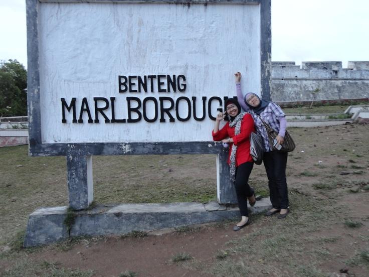 Benteng Marlborough. Bengkulu.
