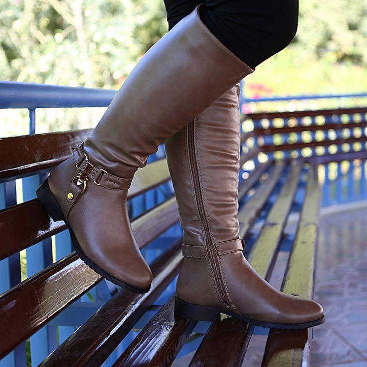 Vizon Klasik Çizme - Ayakkabı Çanta Dükkanı