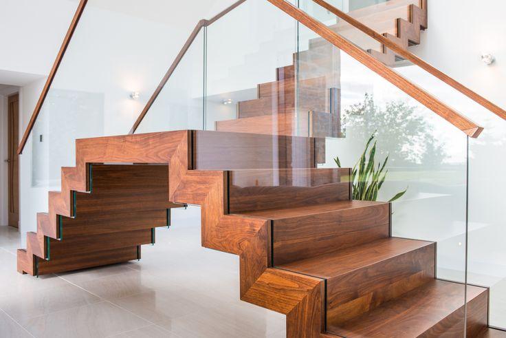'The Coach House Stair', Aberdeenshire- Isis Architecture Ltd, Saxum Stairs, Graham Johnston Kitchen Workshop