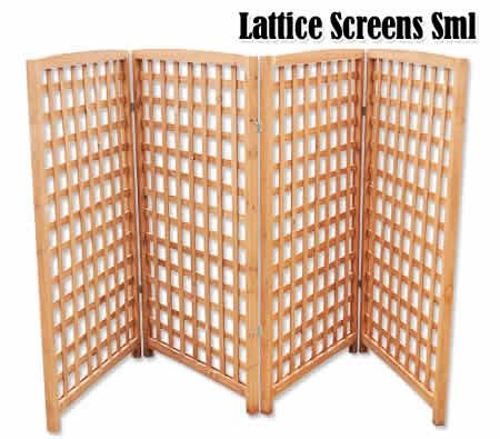 hinged latice - will be making this for yard privacy due to condo regulations