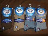 12 PAIRS of COTTON RICH diabetic socks for men (Plain/Brown/Beige/Blue)elastic free [SOMRJ12H3] - https://www.trolleytrends.com/?p=357914