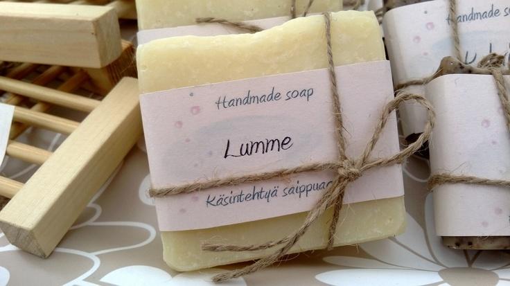 Lumme - Raikas Lumpeen tuoksu kauniin vaaleassa saippuassa. Kokeile ja rakastu ♥