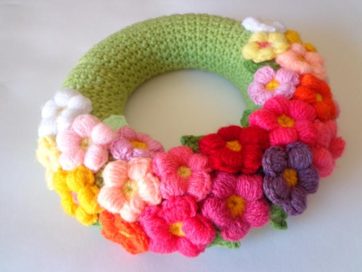 Spring wreath. Gorgeous! @Af's 24/3/13