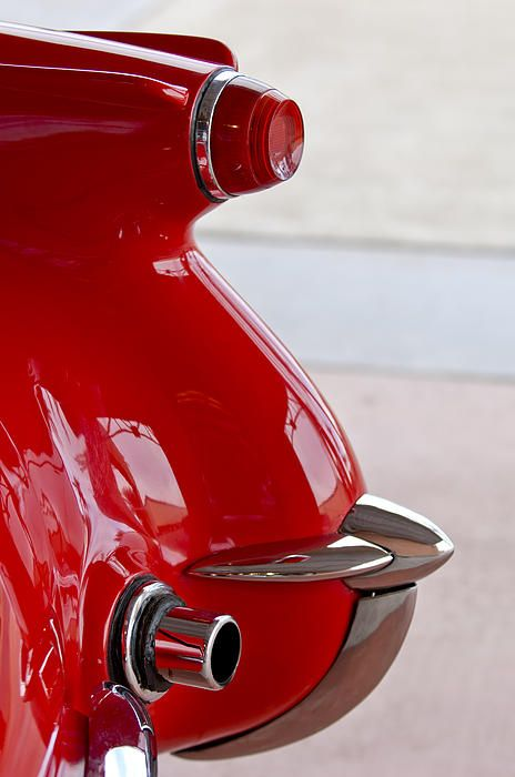 1954 Chevrolet Corvette Tail Light Photograph by Jill Reger - 1954 Chevrolet Corvette Tail Light Fine Art Prints and Posters for Sale