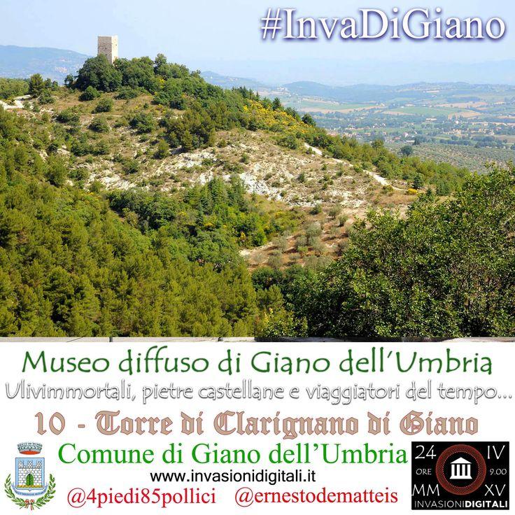 Torre di Clarignano #InvaDiGiano2015 #invasionidigitali