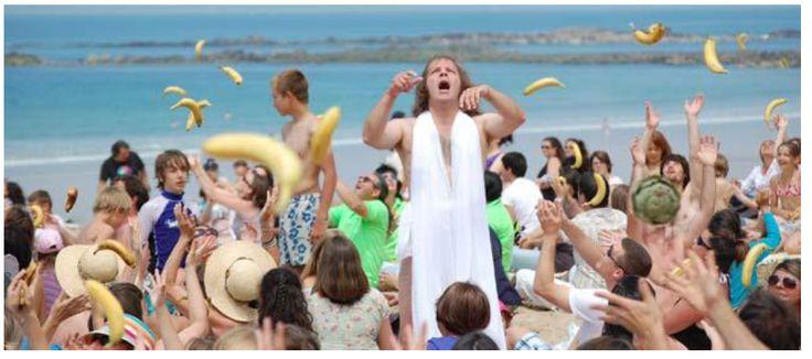 Fig. 10. Image extraite du vidéoclip musical La Banane, Philippe Katerine, Barclay, 2010