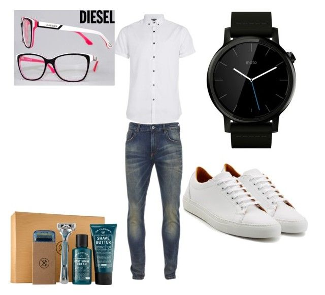 """Untitled #44"" by miskimuslim ❤ liked on Polyvore featuring Topman, Scotch & Soda, Ludwig Reiter, Motorola, men's fashion and menswear"
