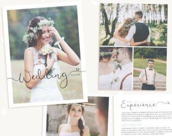 Wedding Photography Magazine Template, Wedding brochure, Welcome packet, 10 Page Digital Magazine, Wedding Photography Marketing, psd guide