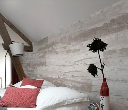 GROSFILLEX Revestimiento de pared CABANE NATURAL
