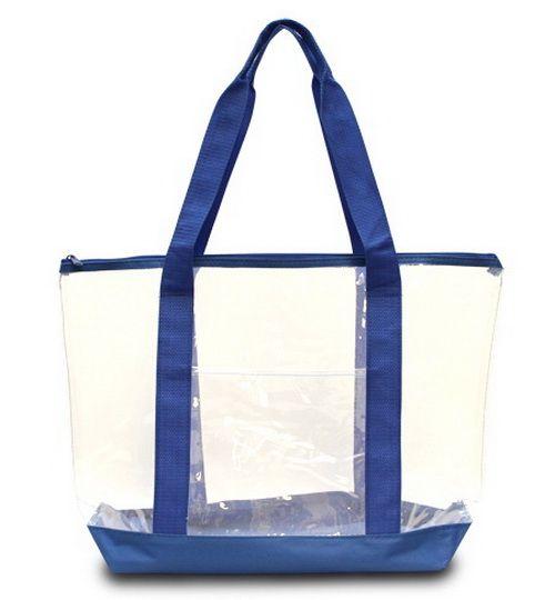 Opentip.com: Liberty Bags 7009 Clear Tote Bag