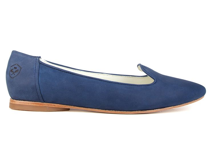 Limited Edition Collection 02: Blue Jean Baby Feminine Slipper by Poppy Barley. Custom fit, ethically made. poppybarley.com