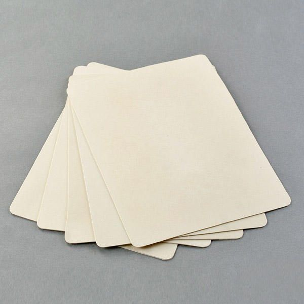 10x Tattoo Practice Skin Double Sided Blank tattooing Sheets 20x30cm