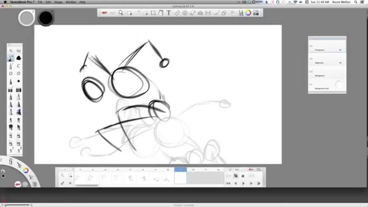 Software Tips: SketchBook Pro 7 Flipbook Animation With Kevin Mellon
