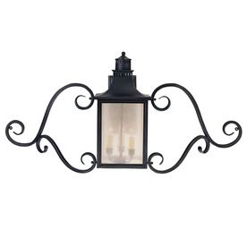 0-In H Slate Outdoor Wall Light 20218811