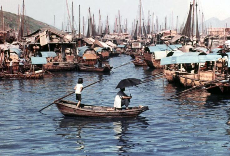 Aberdeen Fishing village, Old Hong Kong: Fish Village, Hong Kong, Fishing Villages, Photographic Digital Art, Aberdeen Fish, Bygon Hong, Boats Fish Water Cabin, Hong Kong Hongkong Archive Archive, Kong Wip
