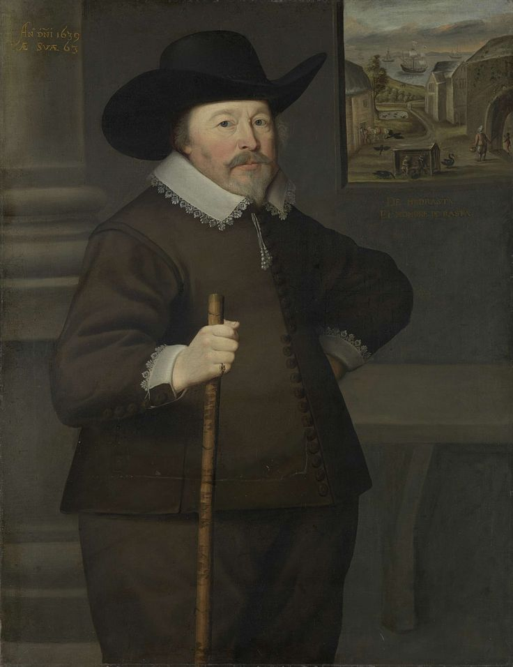 Portrait of a man, Anonymous, , 1639