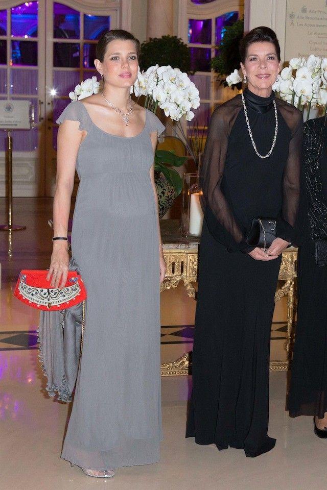 Princess Caroline and Charlotte Casiraghi