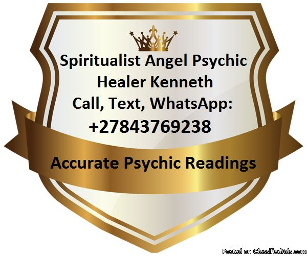 Book a Reading Session. Psychic Healer Kenneth, WhatsApp: +27843769238 - Classified Ad