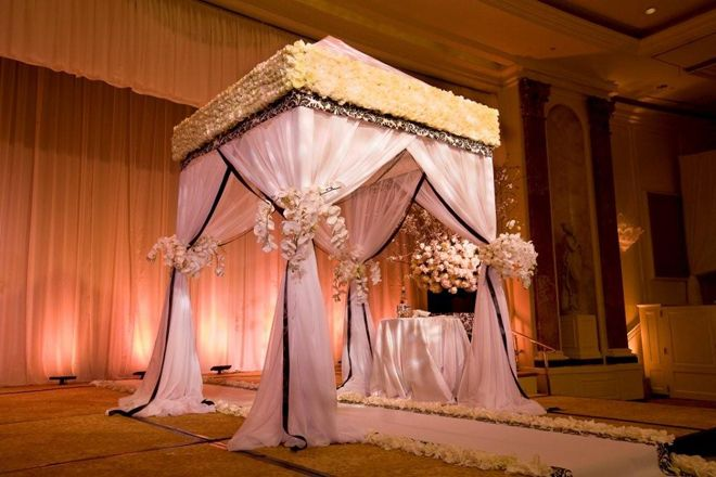 Gorgeous Wedding Ceremonies: Chuppah & Arches Images On Pinterest