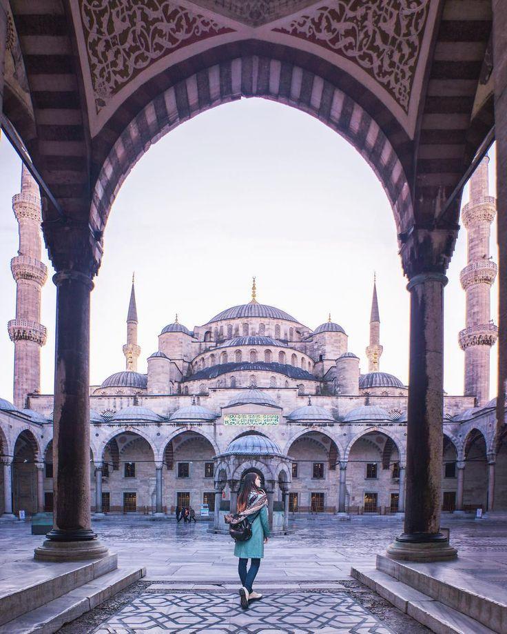 Blue Mosque, Istanbul ♡Pinterest♡ Liza🦄 – #…