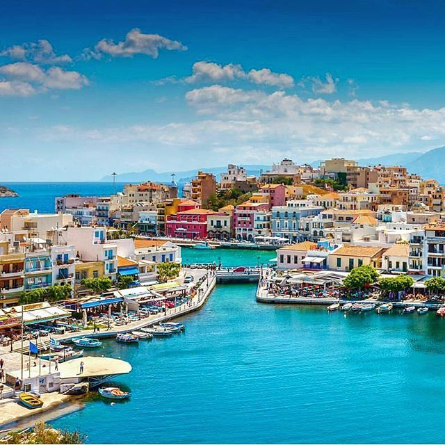 Agios Nikolaos, Crete, Greece ...  The pictutesque port of #agiosnikolaos invites you to discover all of its hidden beauties! Tickets booked?  #cretesecrets #crete #lasithi #port #summervacations #instagreece #discover  by @preferencevacations