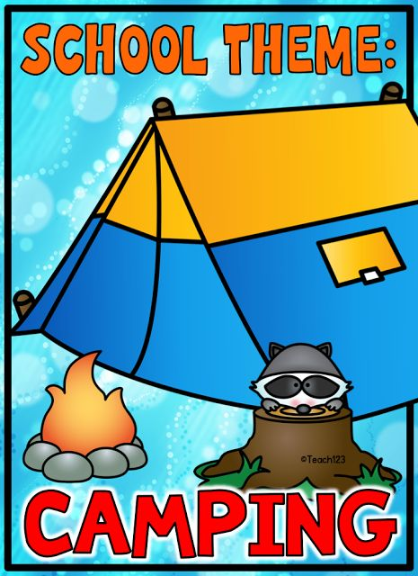Camping: Class themes, Back to School, End of the Year, Summer School, and Work Tips!  Includes FREE Camping theme phonics skills mini book. Plus link to paid.