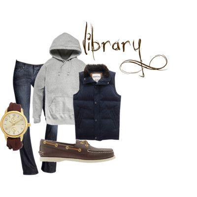 Preppy College Outfits for Class and Library