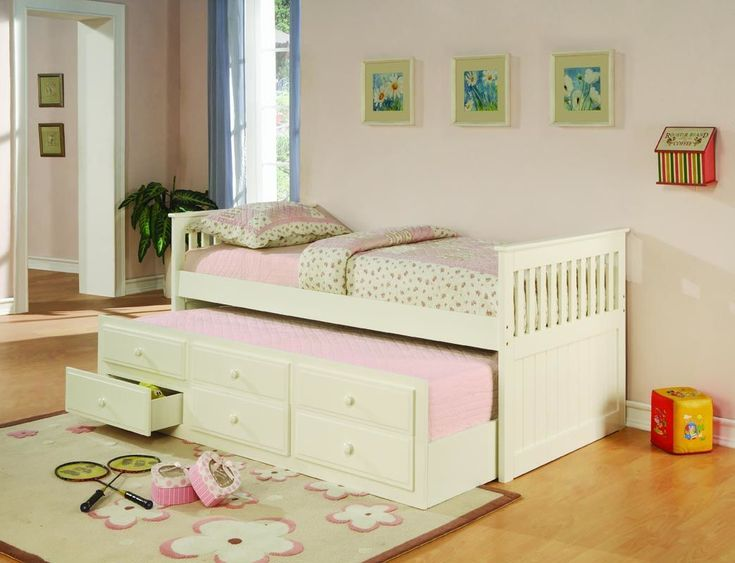 sleepoversWhite Finish, Kids Room, Girls Room, Storage Drawers, Twin Beds, Coasters Furniture, Daybeds, Trundle Beds, Fine Furniture