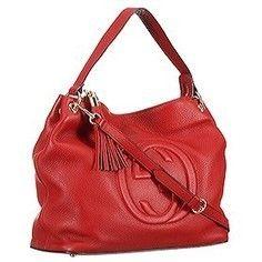 Replica Gucci Soho Leather Hobo Red | sacoche gucci